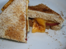 Grilled Cheese and Apple Sandwich photo by Alma Pretorius